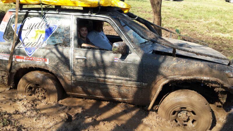 Le 4x4 Lydia Ludic au Rallye du Chaco
