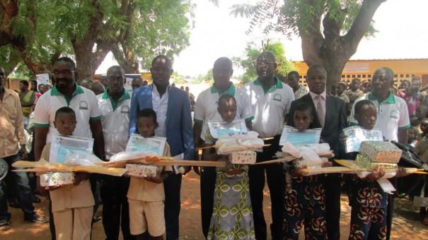 Les élèves du canton de Michon-Tové récompensés