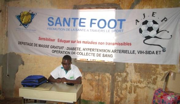 Santé-Foot est un Tournoi pour sensibiliser la population