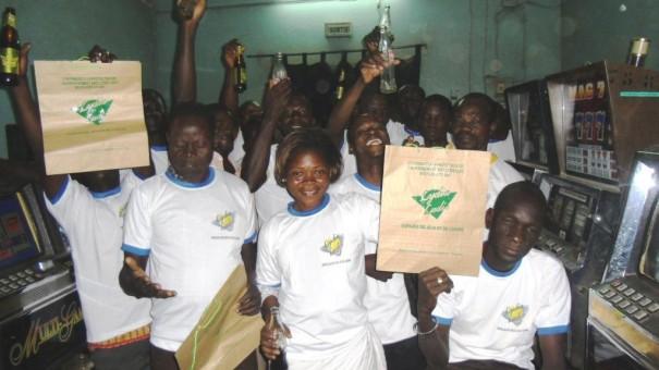 Les clients Lydia Ludic à Koudougou