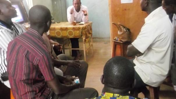 Rencontre entre les agents Lydia Ludic de Ouagadougou et de Koudougou