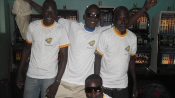 Les clients du mini-salon Senteur à Ouagadougou