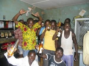 Soirée au mini-salon Clinique d'Ouagadougou