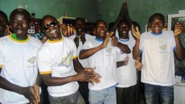 Les clients du mini-salon Confiance 2 à Ouagadougou