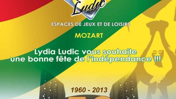 Lydia Ludic célébre la Fête de l'Indépendance togolaise