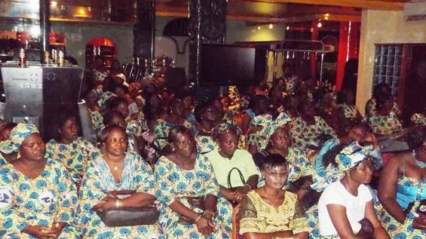 Les femmes de l'association féminine Espoir de Lydia Ludic Burkina