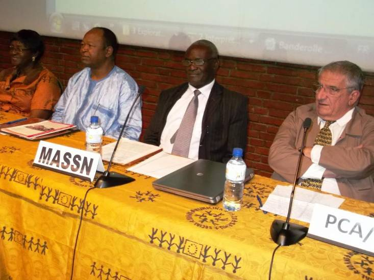 Célébration des 10 ans du Samusocial Burkina