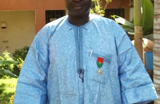 M. Mathias TIA, Responsable du parc machines de Lydia Ludic Burkina et également Premier Vice -Président de la Fédération de Football