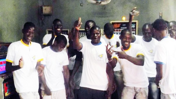 Lydia Ludic Burkina Faso anime le mini salon Sabine d'Ouagadougou