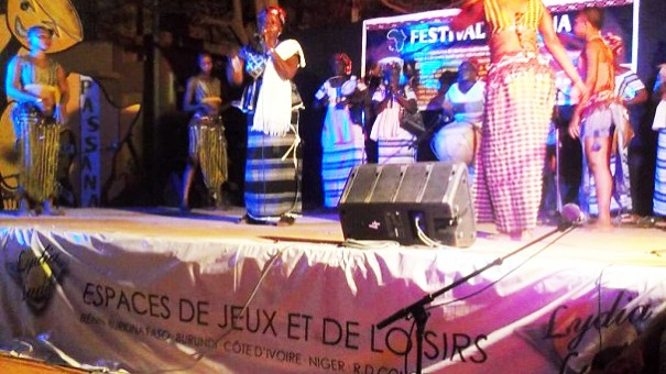 Un spectacle musical lors de la 4e édition du festival Passana