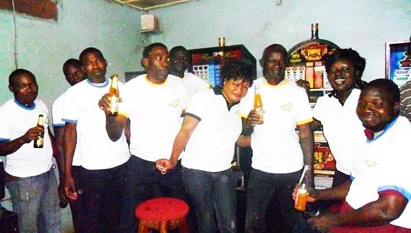 Photo prise lors de l'animation du mini-salon Quai- Sud à Bobo-Dioulasso