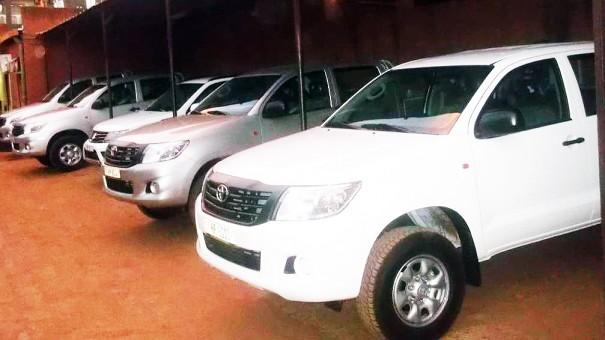 Les voitures récemment acquises par Lydia Ludic Burkina Faso