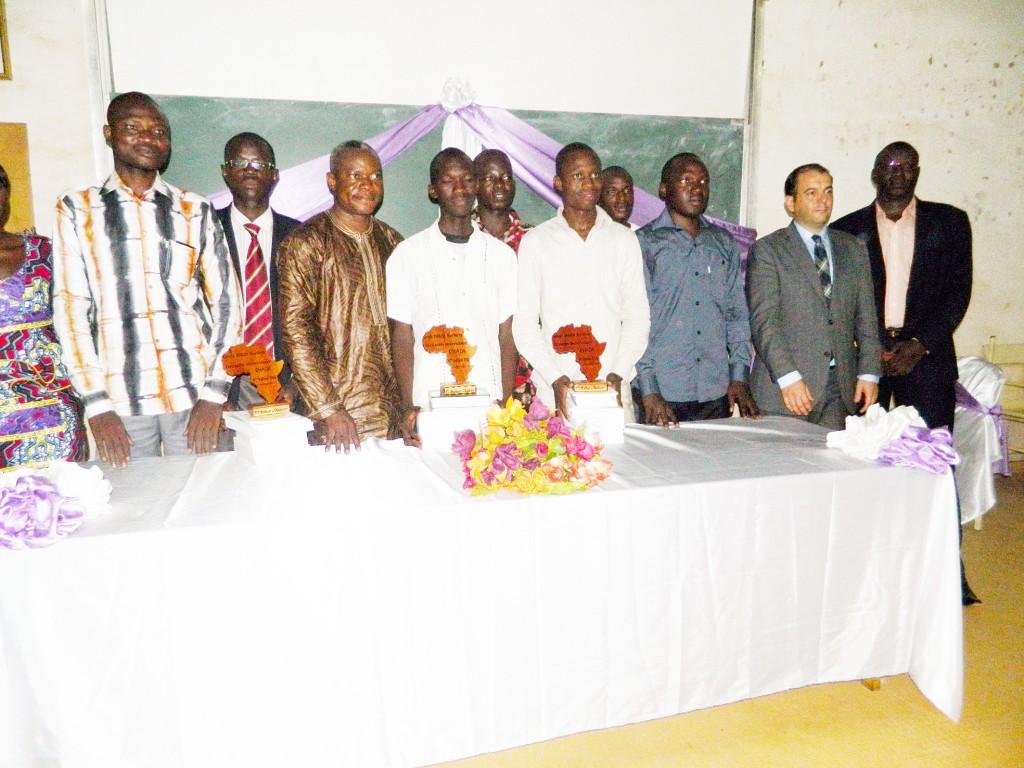 Pierre-Michel Pons en présence du Cercle de l'OHADA, pour la 5ème édition du concours universitaire de plaidoirie