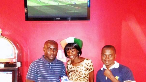 Espace Prestige Biétry : La société a également distribué des cadeaux pendant le match Côte d'Ivoire - Japon
