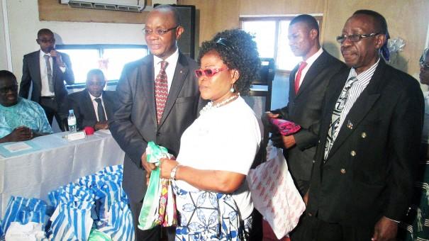 Le Ministre de la Justice et des Relations avec les Institutions de la République, M. Koffi ESAW