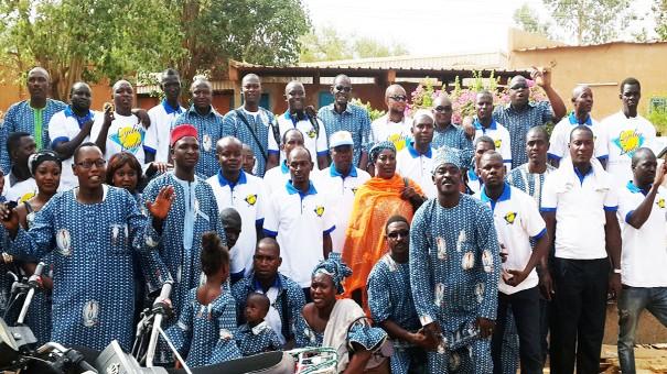 La famille Lydia Ludic Niger