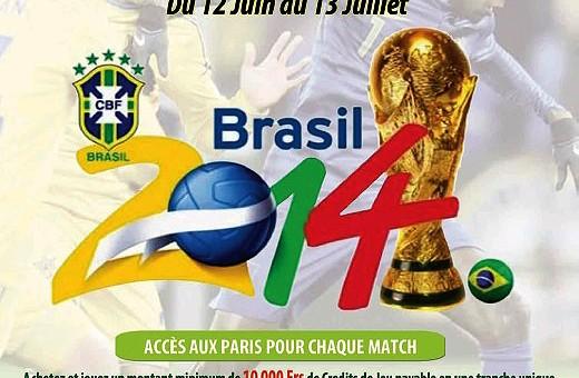 Venez faire vos pronostiques pour la Coupe du Monde de Football dans les salles Lydia Ludic