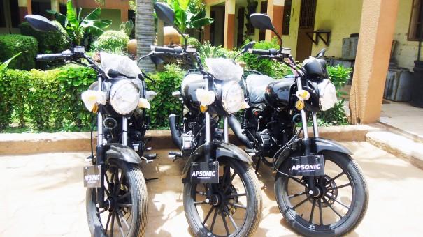 Les nouvelles motos de Lydia Ludic Burkina Faso