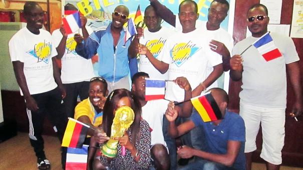 Ils étaient nombreux à venir parier sur le match des quarts de finale France - Allemagne