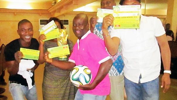 Coupe du Monde de Football - Les clients de Lydia Ludic Togo ont gagné leur pari