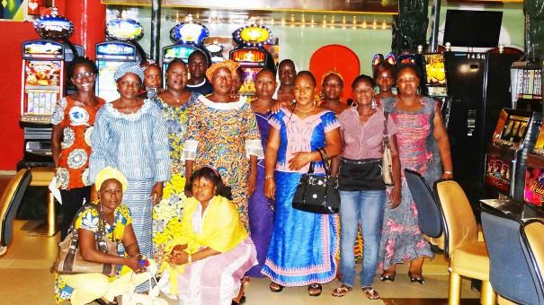 Les membres de l'Association Féminine de Lydia Ludic Burkina Faso