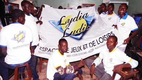Photo prise lors des animations de la caravane Lydia Ludic Burkina Faso