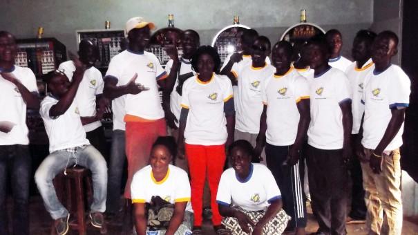 Les clients du mini-salon Intégration à Ouagadougou