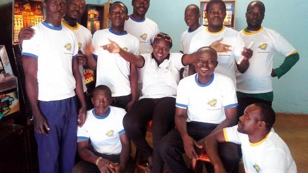 Animation Lydia Ludic au mini-salon Segtaba à Bobo-Dioulasso