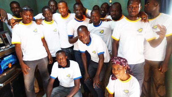 Animation Lydia Ludic du mini-salon Robinet à Ouagadougou