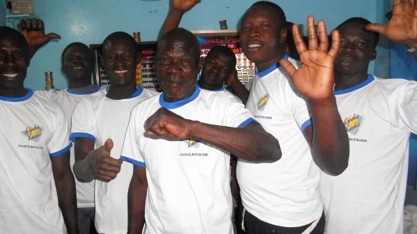 Photo de l'animation du mini-salon Bethel, à Bobo-Dioulasso