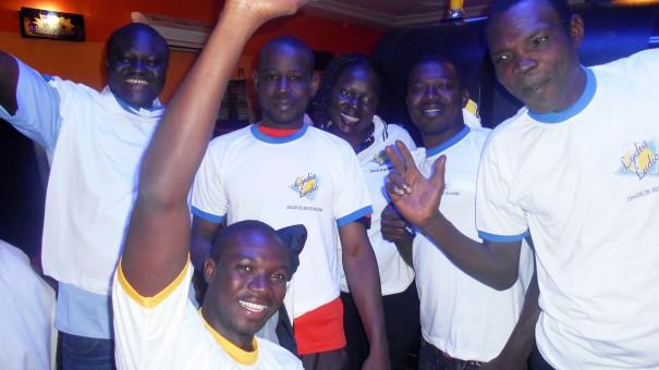 Lydia Ludic Burkina Faso célèbre le réveillon 2015 avec ses clients