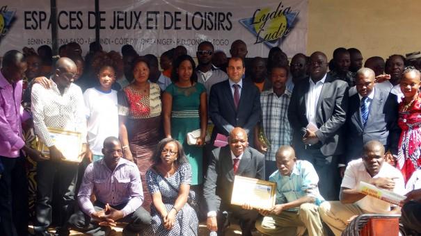 La famille Lydia Ludic Burkina Faso : présentation des voeux 2015