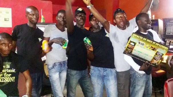 Lydia Ludic Côte d'Ivoire a célébré la CAN 2015 avec ses clients