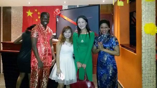 Lydia Ludic Côte d'Ivoire célèbre le nouvel an chinois 2015 avec ses clients