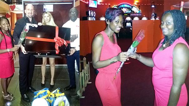Lydia Ludic Côte d'Ivoire charme ses clients pour la Saint-Valentin