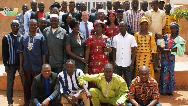 Les agents de Lydia Ludic Burkina Faso présentent leurs vœux à Ouahigouya