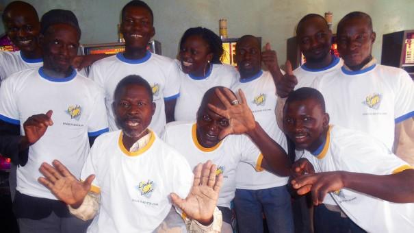 Animation Lydia Ludic Burkina Faso du mini-salon Marina à Bobo-Dioulasso