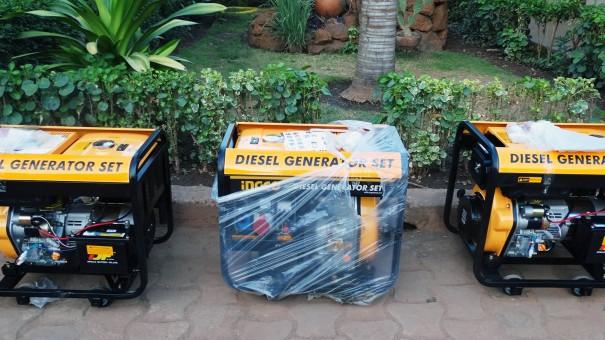 Lydia Ludic Burkina Faso a acquis de nouveaux groupes électrogènes pour le confort de ses clients