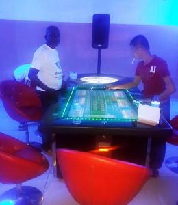Animation de l'Espace de Jeux et de Loisirs VIP dans le quartier Plateau Château 1, à Niamey