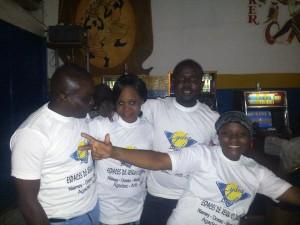 Aanimation de l'Espace de Jeux et de Loisirs du quartier Poudrière, à Niamey