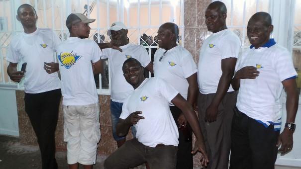 L'équipe d'animation de Lydia Ludic RDC a inauguré un nouvel Espace de Jeux et de Loisirs à Kinshasa
