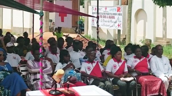 Célébration de la Journée Mondiale de la Croix Rouge et du Croissant-Rouge, le Vendredi 08 Mai 2015 à Adjarra