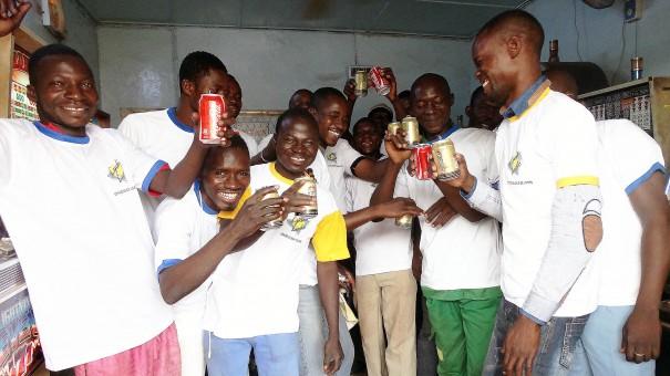 Lydia Ludic Burkina Faso a animé son Espace de Jeux et de Loisirs dans le quartier Pagalayiri, à Ouagadougou