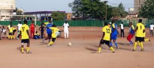 Lydia Ludic Burkina Faso a organisé des activités sportives pour célébrer la Fête du Travail avec ses agents en organisant un tournoi de football entre autres