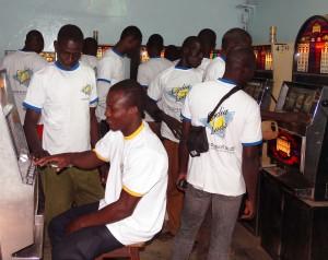 L'Espace de Jeux et de Loisirs Lydia Ludic du quartier Patte d'Oie à Ouagadougou, au Burkina Faso