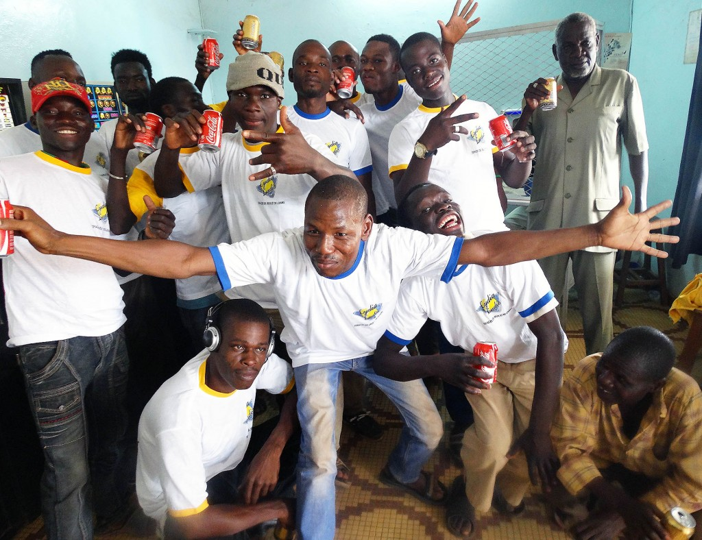 Lydia Ludic Burkina Faso a animé son Espace de Jeux et de Loisirs du quartier Gounghin à Ouagadougou