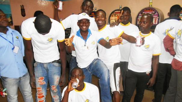 Lydia Ludic Burkina Faso a animé son Espace de Jeux et de Loisirs du quartier Farakan, à Bobo-Dioulasso