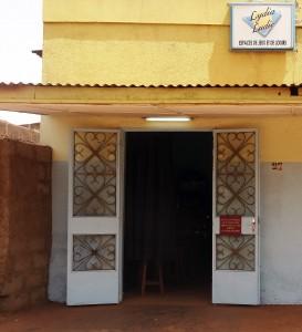 Lydia Ludic Burkina Faso a rénové son Espace de Jeux et de Loisirs dans le quartier Gounghin, à Ouagadougou