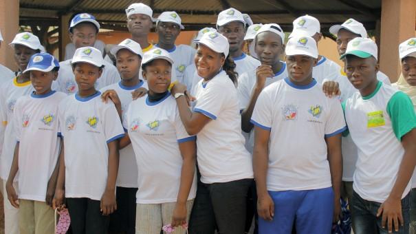 Lydia Ludic Burkina Faso est venu en aide aux Aveugles et Malvoyants de Bobo-Dioulasso