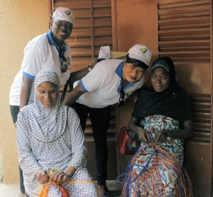 Lydia Ludic Burkina Faso et les Aveugles et Malvoyants de Bobo-Dioulasso
